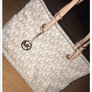 Michael Kors Zip Top Tote Bag